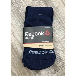 NEW Reebok All Sport Moisture Wicking Youth Socks